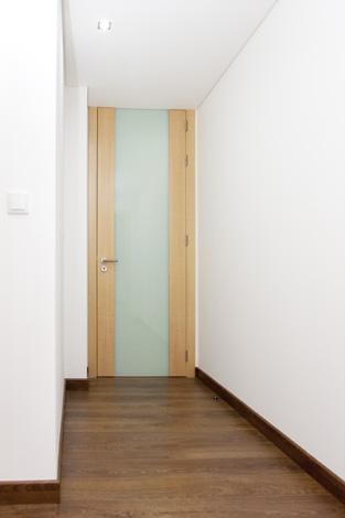 Portas interiores lacadas